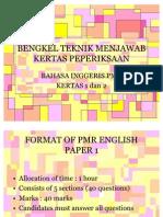 Bengkel Teknik Menjawab PMR Bahasa Inggeris