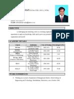 Subu Resume