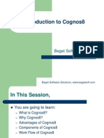 Introduction Cognos8