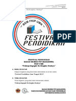 Proposal Festival Pendidikan 2010