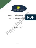 Prepking NO0-002 Exam Questions