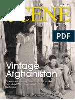 Afghan Scene Magazine August 2011