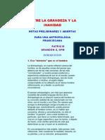 antropología franciscana de grandón