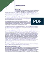 Digest of 2001 Revenue Memorandum Orders