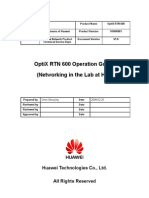 OptiX RTN 600 Remote Operation Guide-A