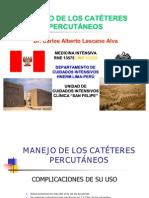 MANEJO DE LOS CATÉTERES PERCUTÁNEOS