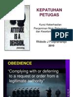 Kepatuhan Petugas.pdf ( Malaka Dr. Widodo )