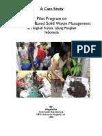 Report on Pilot Program CBSWM-Pangkah-IKa
