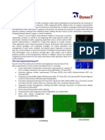 DynusT Overview 2-Page