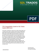 Compatibility Guide TradosStudio2009