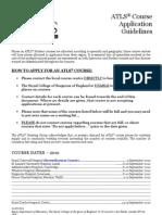 ATLS Course List 2010