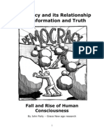 Democracy and Its Relationship With Information and Truth