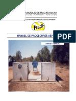 Manuel de procédures AEPA - Partie 1