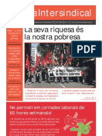 14 La Intersindical