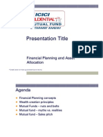 Financial Planning and Asset Allocation