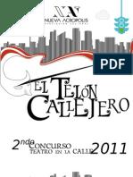 Convocatoria El Telón Callejero 2011
