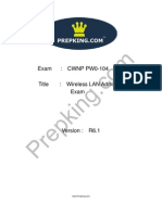 Prepking PW0-104 Exam Questions