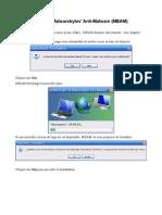 Analyse Malwarebytes Anti-Malware (MBAM)