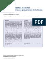 Prevencion de Lesiones Musculares