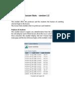 eFront - Module Lesson Stats