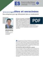 Cosmopolites et enracinées - Notes d'Analyse Géopolitique n°28