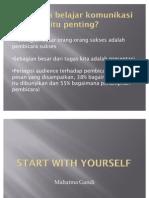 Presentasi Start With Yourself