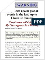 CHRIST's Second Coming — The.WARNING