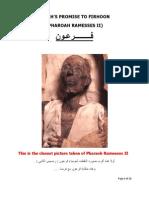 God's Eternal Promise to Pharaoh Ramesses II