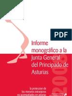 Informe monográfico elaborado por la Procuradora General del Principado de Asturias sobre la protección de los menores extranjeros no acompañados en Asturias (2008)