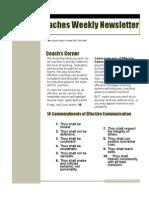 Kin339i Newsletter 2