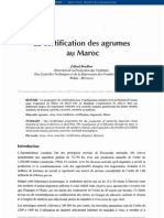 Certification Des Agrumes Au Maroc