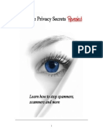 eBook Privacy Secrets Revealed