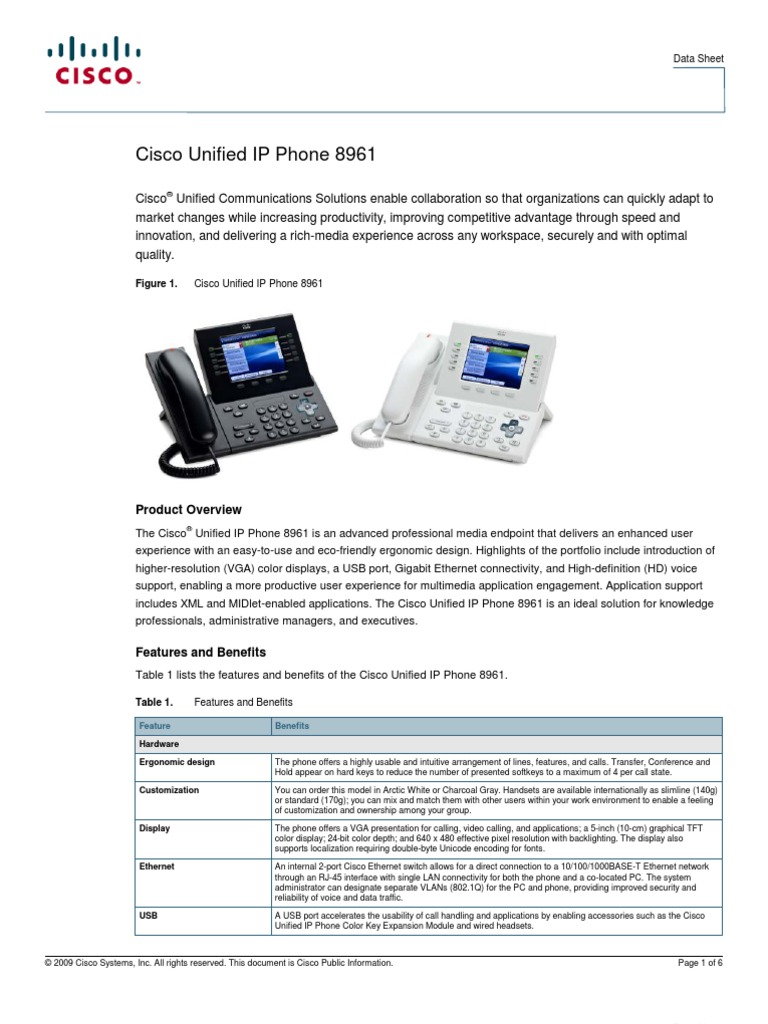 9900 IP Phone Charcoal CP-89//9900-LK-K-C= Cisco Wall Mount for 8900