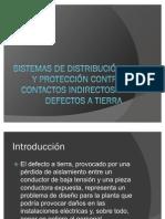 Sistemas de distribución y protección contra