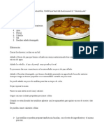 receta tortillita