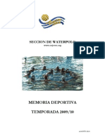 Memoria Deportiva 2009-10