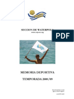 Memoria Deportiva 2008-09