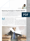 STRATEGIES FOR CHAOTIC MARKETS