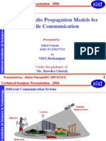 Survey of Radio Propagation Models for Mobile Communication