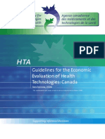 Pharmacoeconomic Guideline Canada