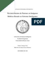 Reconocimiento de Patrones en Imágenes Médicas Basado en Sistemas Inteligentes