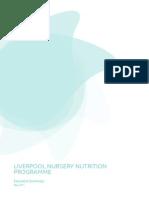 Liverpool Nursery Nutrition Programme Report-Executive Summary
