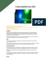 Efectos Para Proyectos Con LEDs