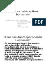 Metodos contraceptivos hormonais