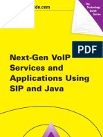 VoIP Using SIP and Java