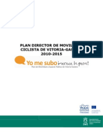 Plan Director Movilidad Ciclista 2010-2015