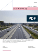 Indian Turnpikes (BOT Toll Roads)