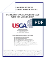 USGA Report 2011
