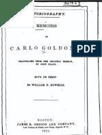 Memoirs of Carlo Goldoni