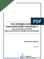 Une stratégie contre-insurrectionnelle victorieuse ? Les insurrections de 2010 dans la province du Jonglei, au Sud-Soudan